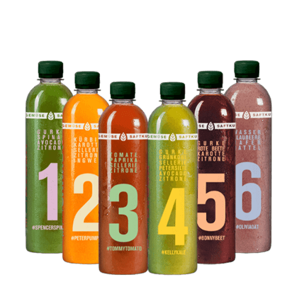 7-Day Vegetable Juice Cleanse